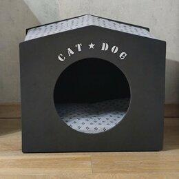 Лежаки, домики, спальные места - Домик для кошки или небольшой собачки, 0