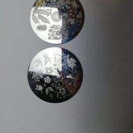 Дизайн ногтей - пластины для стемпинга, 0