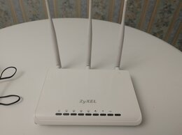 Оборудование Wi-Fi и Bluetooth - Wi-Fi роутер  Zyxel, 0