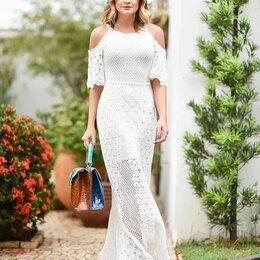Платья - Эксклюзивное вязаное платье, 0