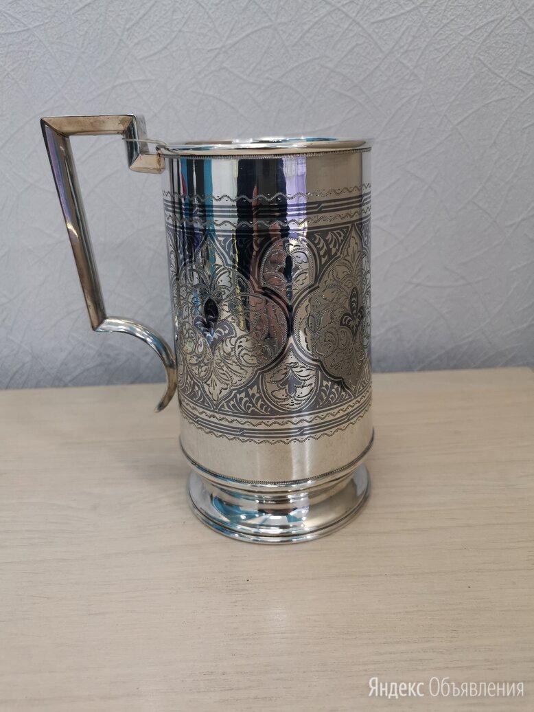 Серебряная пивная кружка.  по цене 43000₽ - Кружки, блюдца и пары, фото 0