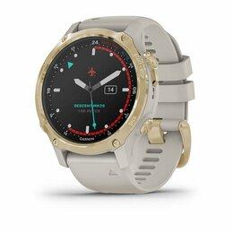 Умные часы и браслеты - GARMIN DESCENT MK2S LIGHT GOLD WITH LIGHT SAND…, 0