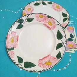 """Тарелки - Столовые тарелки """"Дикая роза"""" (26 см),…, 0"""