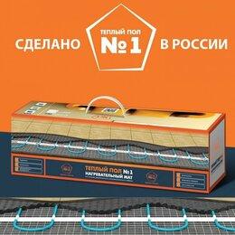 Электрический теплый пол и терморегуляторы - Нагревательный мат под плитку ТСП-1350 Вт/9,0 кв.м, 0
