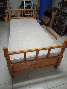 Кровати - Деревянная кровать, 0