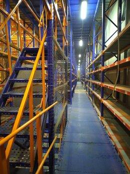 Производственно-техническое оборудование - стеллажи паллетного типа на склад в гараж, 0