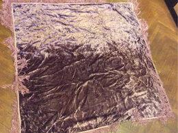 Скатерти и салфетки - Винтажная плюшевая скатерь 50е годы, 0