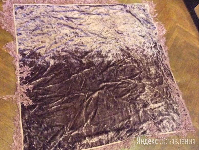 Винтажная плюшевая скатерь 50е годы по цене 2500₽ - Скатерти и салфетки, фото 0