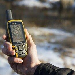 GPS-навигаторы - Garmin GPSmap 64 Rus навигатор туристический новый, 0