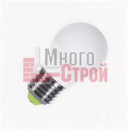 Лампочки - Лампа светодиодная LED-ШАР 5Вт 230В Е27 4000К 400Лм NEOX, 0