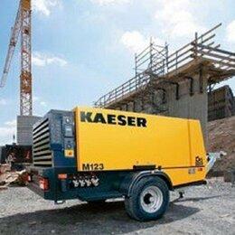 Воздушные компрессоры - дизельный компрессор строительный kaeser M 123, 0