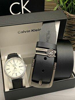 Наручные часы - Подарочный набор для мужчин часы и ремень, 0