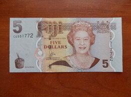 Банкноты - ФИДЖИ 5 долларов 2012 г., 0