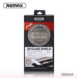 Защитные пленки и стекла - Защитные стекла Remax для Iphone 3D Полный клей, 0