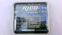 Наборы инструментов и оснастки - RICO набор 61 szt бит для отвертки, 0