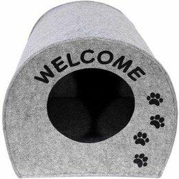 """Лежаки, домики, спальные места - Домик """"Будка WELCOME""""для собачек и кошек , 0"""