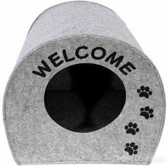 """Домик """"Будка WELCOME""""для собачек и кошек  по цене 500₽ - Лежаки, домики, спальные места, фото 0"""
