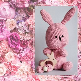 Мягкие игрушки - Кролик амигуруми , 0