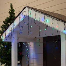 """Украшения для организации праздников - LED гирлянда """"Бахрома"""" уличная, 3 х 0.6 м, Каучук, Мульти, 0"""