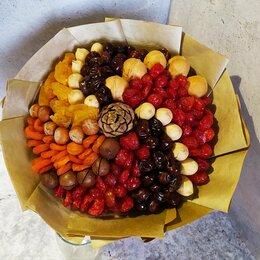 Цветы, букеты, композиции - Букет из сухофруктов и орехов., 0