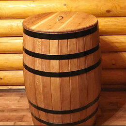 Бочки, кадки, жбаны - Кадушка дубовая 50 литров для засолки овощей, фруктов и ........, 0