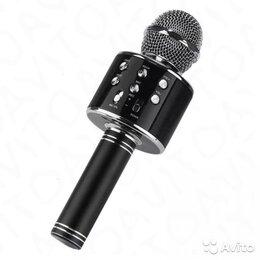 Микрофоны - Микрофон караоке WSTER WS-858 черный, 0