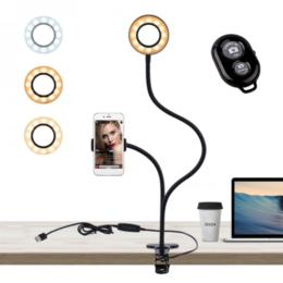 Осветительное оборудование - Кольцевая лампа  на прищепке (H05), 0