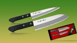 Наборы ножей - Fuji Cutlery TJ-Giftset-A, набор из 2-х ножей, 0