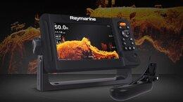 Эхолоты и комплектующие - Эхолот Raymarine Element 9 с датчиком HV-100, 0