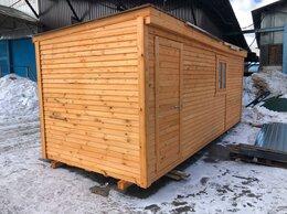 Готовые строения - Бытовка деревянная новая 6м А-194, 0