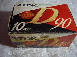 Музыкальные центры,  магнитофоны, магнитолы - Аудиокассеты  TDK  Производство Япония     , 0