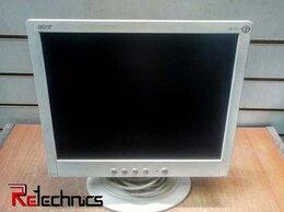 """Мониторы - Монитор с дефектом ЖК 15"""" 4:3 Acer AL1511 белый, 0"""
