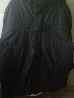 Куртки - Куртка зимняя мужская большого размера, 0
