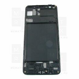 Цифровые фоторамки и фотоальбомы - Рамка дисплея для Samsung A750F Черная, 0