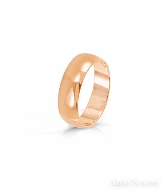 Гладкое обручальное кольцо, золото 585 по цене 22680₽ - Кольца и перстни, фото 0