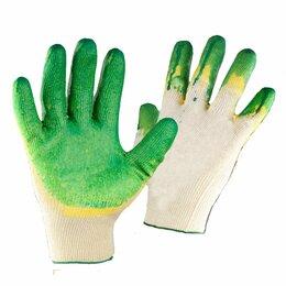 Перчатки и варежки - Перчатки рабочие, хб с двойным латексным…, 0