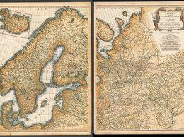 Гравюры, литографии, карты - Гравированная кабинетная карта 1758 года России…, 0
