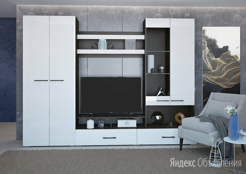 Ненси-1 Гостиная по цене 22144₽ - Шкафы, стенки, гарнитуры, фото 0