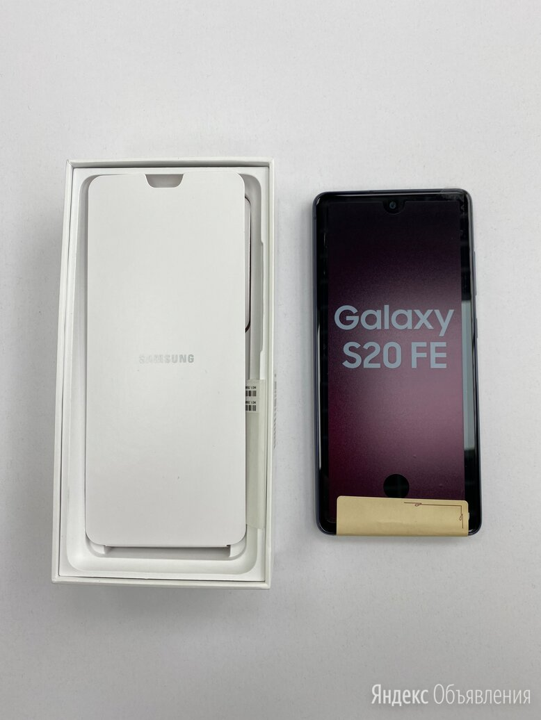 Samsung S20 FE 128GB - Blue, White по цене 39000₽ - Мобильные телефоны, фото 0