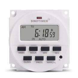 Системы Умный дом - Таймер вкл/выкл цифровой программируемый на 7 дней 220В, 0