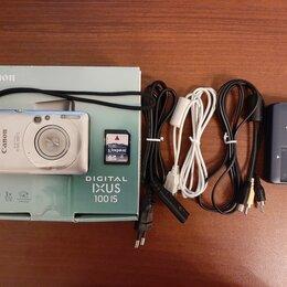 Фотоаппараты - Фотоаппарат Canon Digital IXUS 100 IS, 0