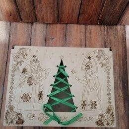 Подарочная упаковка - Деревянная подарочная коробка - шкатулка , 0