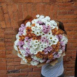 Цветы, букеты, композиции - Огромный букет хризантем, 0