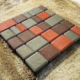 Тротуарная плитка, бордюр - Тротуарная плитка старый город, 0