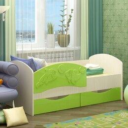 Кроватки - Кровать детская Дельфин-3, 0