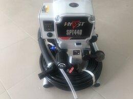 Инструменты для нанесения строительных смесей - HYVST SPT 440 Безвоздушный окрасочный аппарат, 0