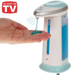 Мыльницы, стаканы и дозаторы - Сенсорный дозатор для мыла, 0