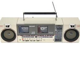 Музыкальные центры,  магнитофоны, магнитолы - Магнитола Sharp QT-89 (Japan), 0