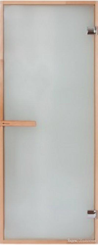 Дверь для бани и сауны полностью остекленная  по цене 8200₽ - Двери, фото 0