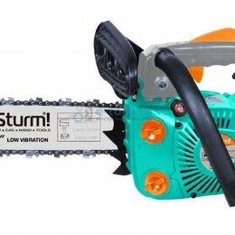 Электро- и бензопилы цепные - Бензопила Sturm GC9912, 0
